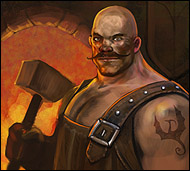 Stavros the Blacksmith. He has a Greek grandfather.