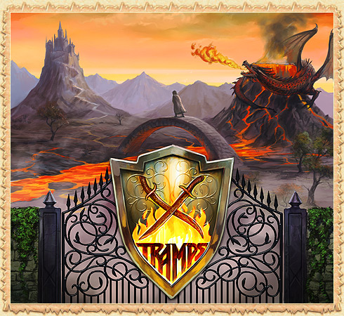 Coat of Arms of the clan Tramps in the MMORPG Legend - Legacy of the Dragons