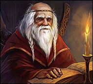 Pandrik the Wise in the free online game Legend: Legacy of the Dragons