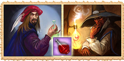 Alchemists in the free online game Legend: Legacy of the Dragons