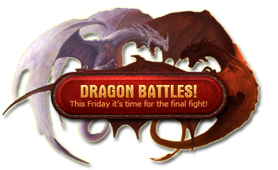 Dragon Battle in the free MMORPG Legend: Legacy of the Dragons