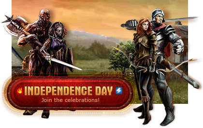 Independence Day in the free MMORPG Legend: Legacy of the Dragons