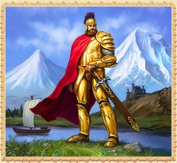 This avatar from the MMORPG Legend: Legacy of the Dragons belongs to the player ARARAT in the Russian version of the game.