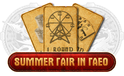 Summer Fair in the lands of Faeo in the MMORPG Legend - Legacy of the Dragons