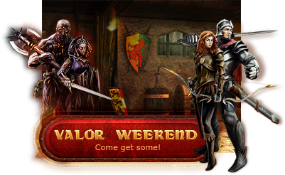 Valor Weekend in the free MMORPG Legend: Legacy of the Dragons