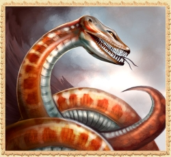 Snake in the free online game Legend: Legacy of the Dragons